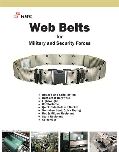 Web Belts Brochure